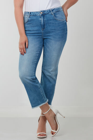 Straight leg capri jeans LILY