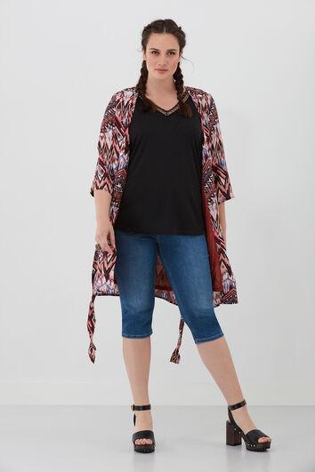 Kimono jasje met print