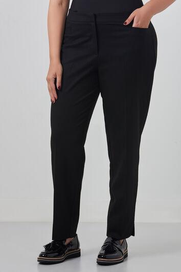 Pantalon met zijsplit