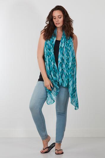 Sjaal met all-over print