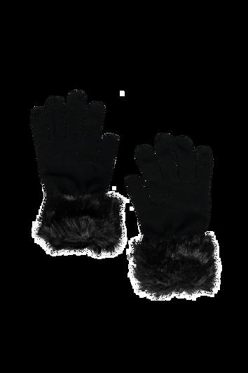 Handschoenen met imitatiebont