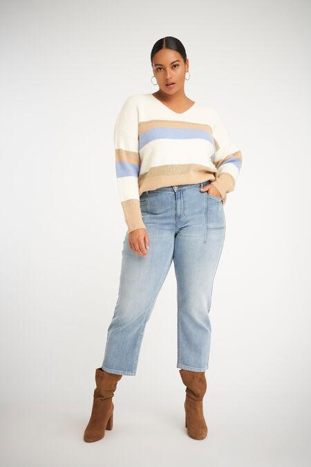 Jeans met steekzakken