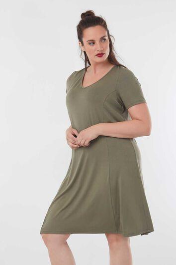 Effen jurk