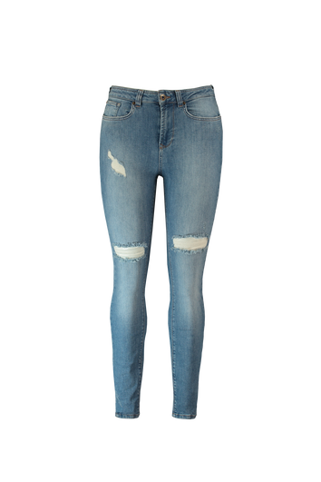 A fit skinny jeans stone wash