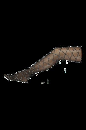 Panty met lurex