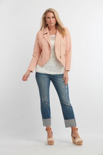 Jeans met glitterdetail