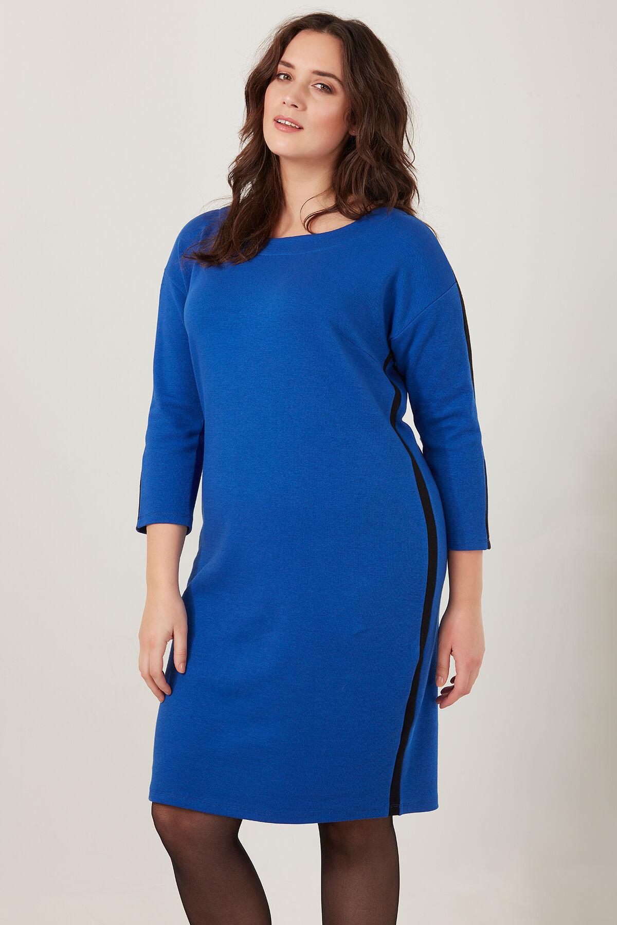 Lange sweater jurk dames