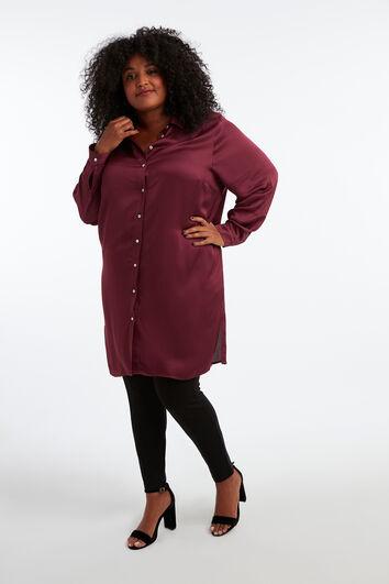 Satijnen blouse