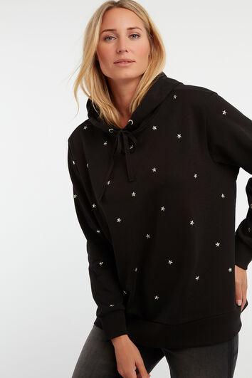 Sterrensweater met capuchon