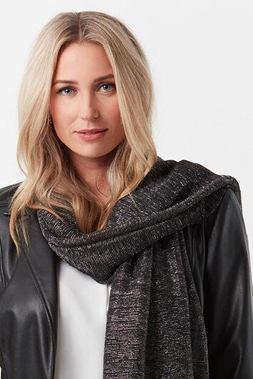 Sjaal met lurex