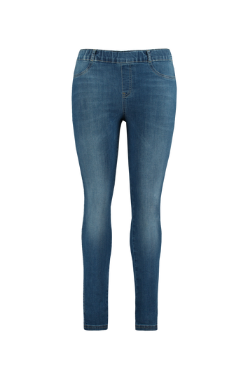 Slim fit denim tregging POPPY