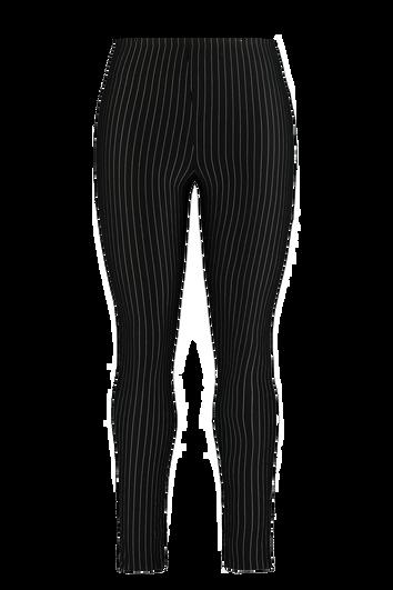 Legging met krijtstreep