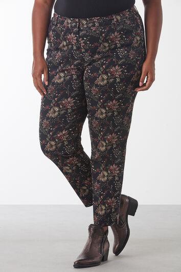 Pantalon met paisley print