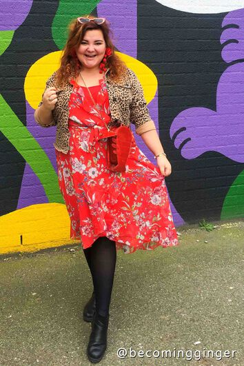 Lookbook Red Dress