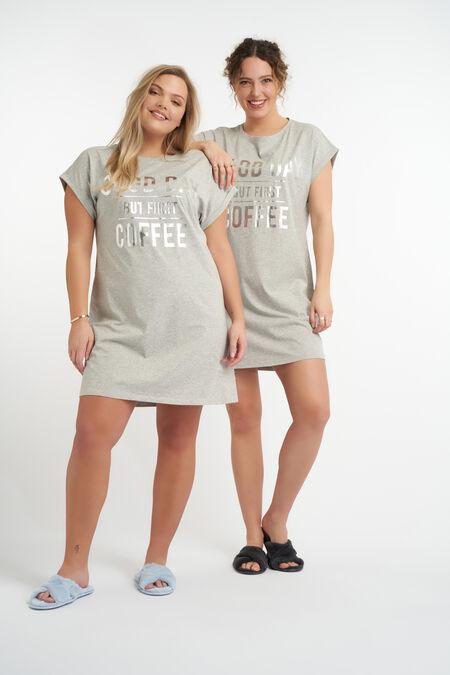 Oversized dames pyjama shirt