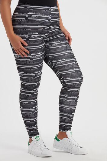 Legging met print