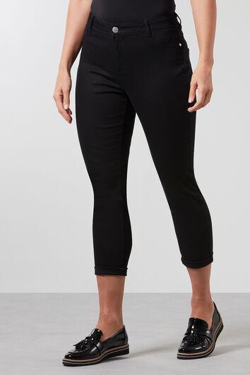 Twill broek in super skinny fit