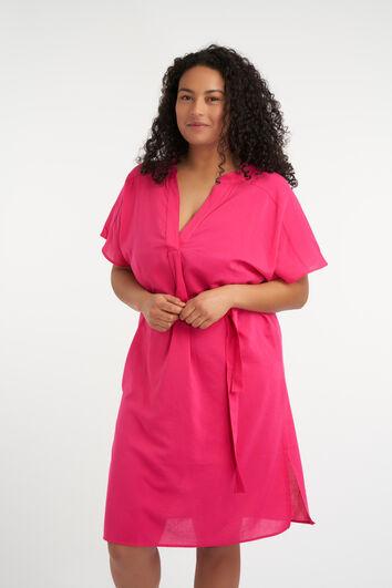 Lange uitlopende blouse