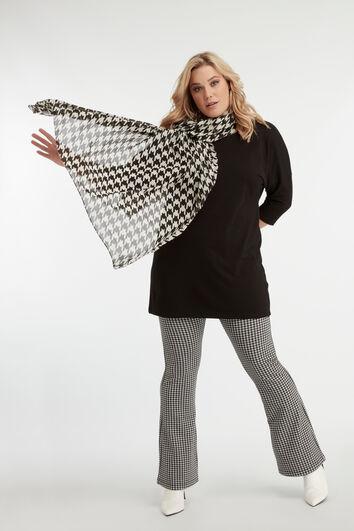 Pied de Poule shawl