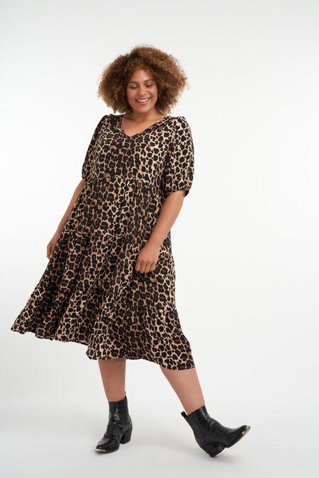 A-lijn jurk met print