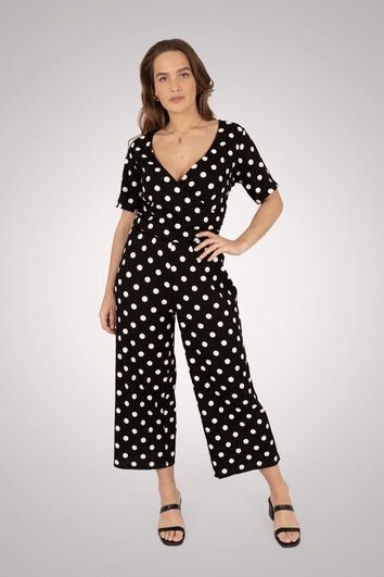 Stippen jumpsuit