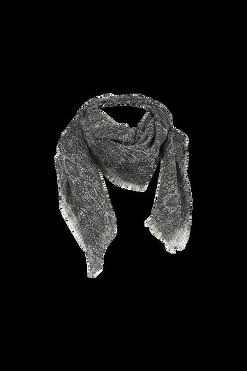 Dunne sjaal met slangen print