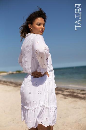 Korte jurk met print