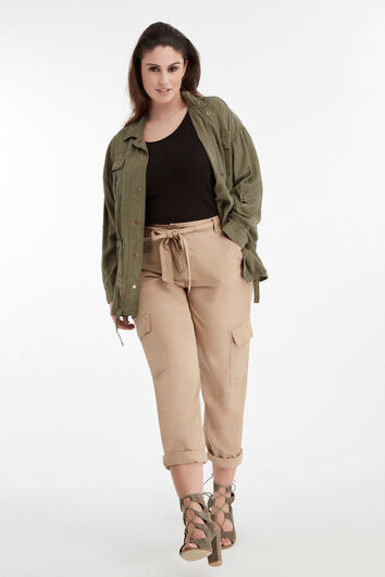 Lookbook Cargo Pants Sand