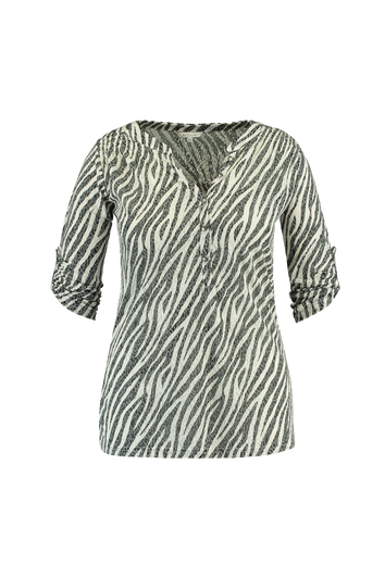Top met animalprint
