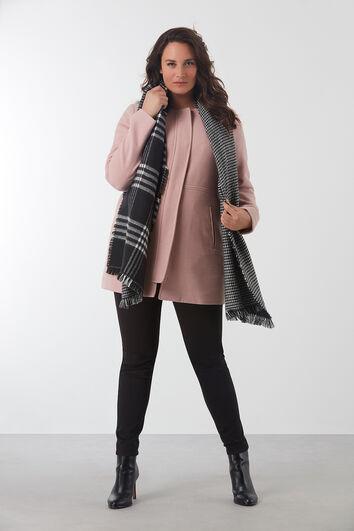 Sjaal met dubbelprint