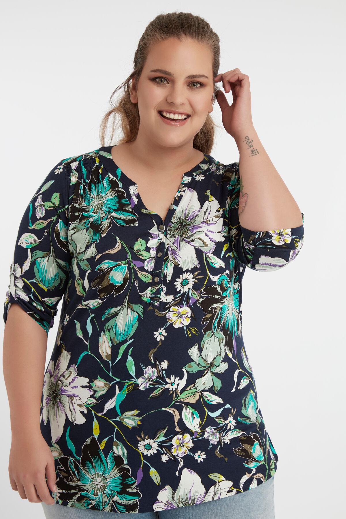 Tops & T shirts in grote maten bij MS Mode® vanaf maat 40