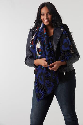 Sjaal met animalprint