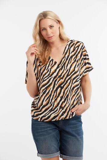 Lookbook Sale Zebra Blouse