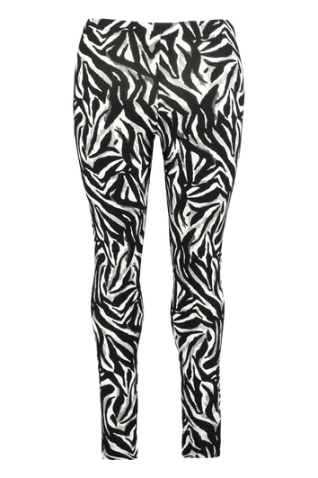 Legging met zebraprint