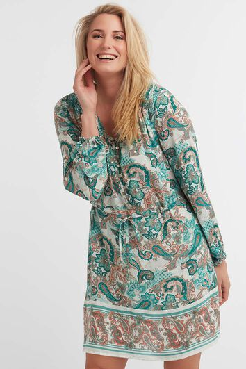 Paisley Shirtdress