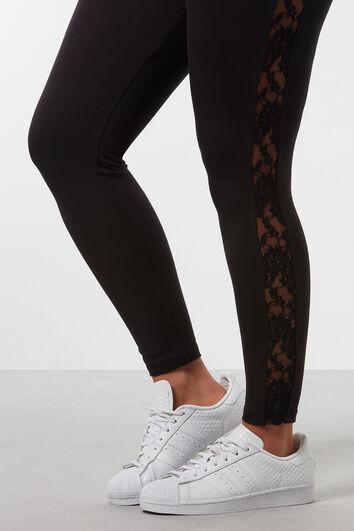 Legging met kant