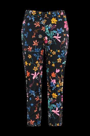 Pantalon met bloemenprint