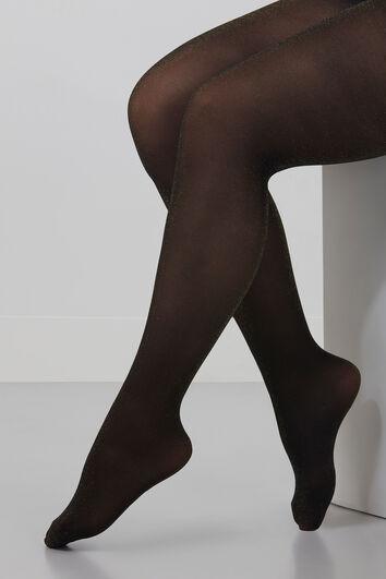 Panty met goudglans