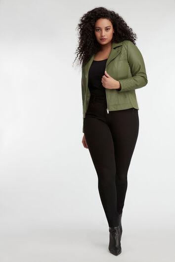 Lookbook Green Jacket