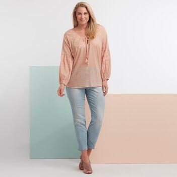 Paisley Blouse Light Pink