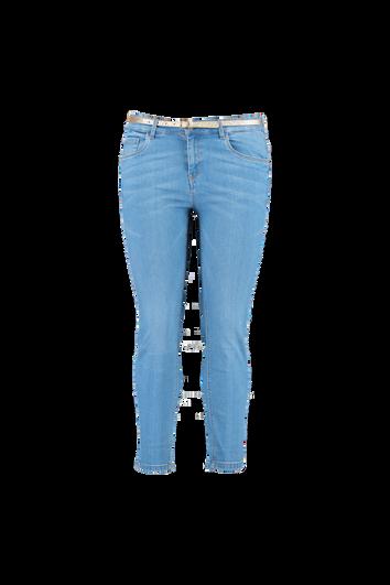 Jeans met ceintuur