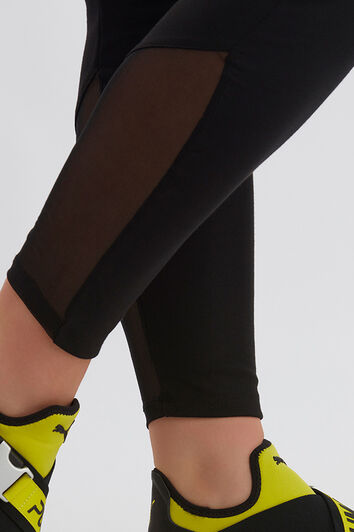Legging met meshdetail