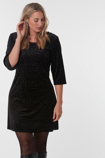 A-lijn jurk met kruisdetail