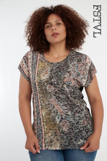 Bohemian t-shirt met print