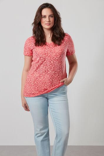 Semi transparant T-shirt