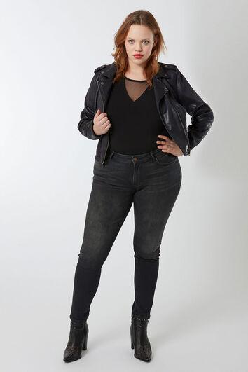 O fit skinny jeans black