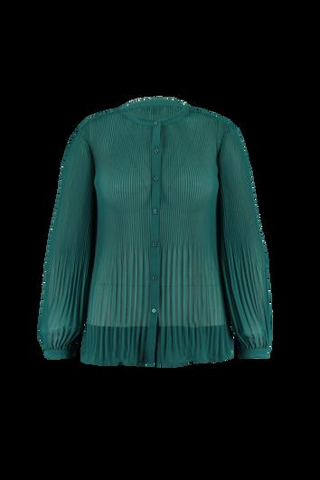 Plissé blouse