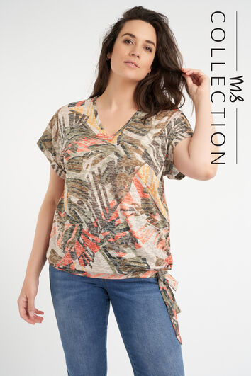 Top met strikdetail