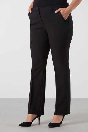 Pantalon met stretch
