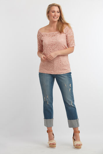 Kanten off-shoulder top